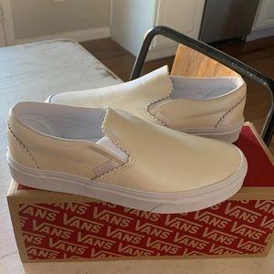 Vans slide ons sneakers